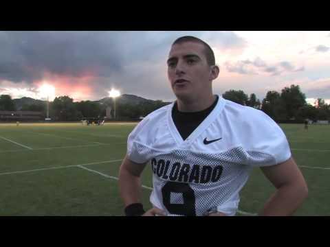 CU quarterback Tyler Hansen