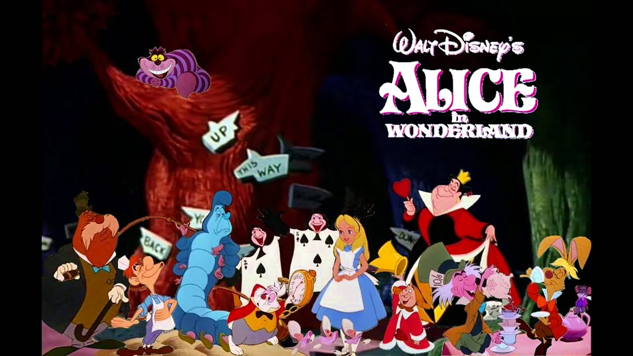 an analysis of alice in wonderland by walt disney The much-heralded 1951 release of walt disney's alice in wonderland became a collector's bonanza that includes these rca victor records that were the closest thing to experiencing the movie in the decades before home video.