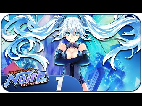 Hyperdevotion Noire: Goddess Black Heart (PC, Let's Play) | Chibi Noire! | Part 1