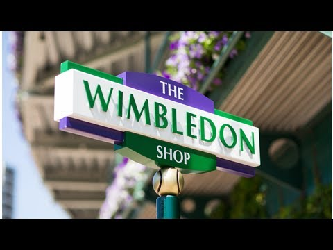 The All England Lawn Tennis Club opens up first pop-up shop in Wimbledon Village