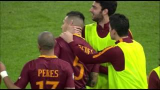 Il gol di Paredes - Roma - Torino - 4-1 - Giornata 25 - Serie A TIM 2016/17