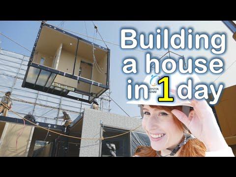 ¿Quién dijo coches? Toyota levanta viviendas modulares... en un solo día