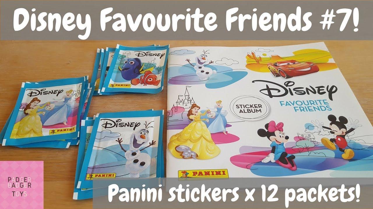 53 Panini Disney Favourite Friends Sticker 2018 No