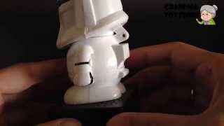 Unboxing Toys Review/demos - Star Wars Storm Trooper With Movie Sounds Candy Dispenser
