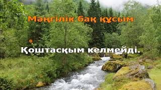 Мейрамбек Беспаев - Алғашқы махаббат (қазақша караоке, минус)