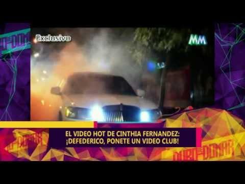 VIDEO HOT DE CINTHIA FERNANDEZ - 29-05-15