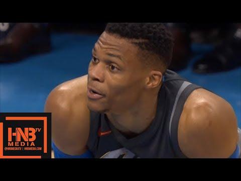 Oklahoma City Thunder vs Washington Wizards 1st Half Highlights / Jan 25 / 2017-18 NBA Season