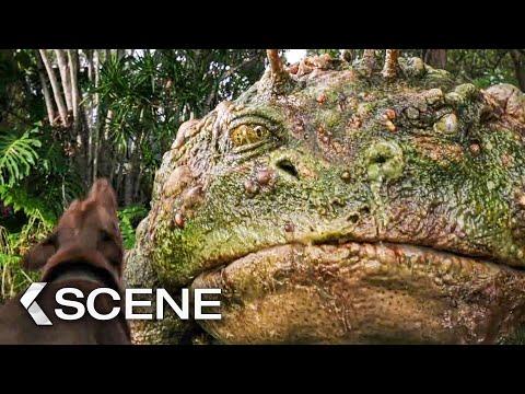 Gigantic Frog! Scene – LOVE AND MONSTERS (2020)