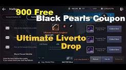 Black Desert Mobile: 900 Free Black Pearls Coupons & Ultimate Liverto Orange Drop