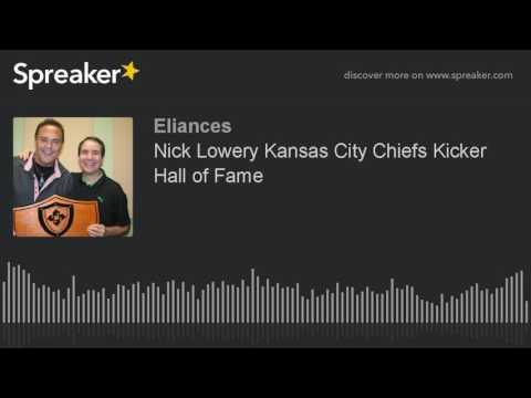Nick Lowery Kansas City Chiefs Kicker Hall of Fame