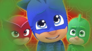 PJ Masks Full Episode - Romeo's Fart Machine VS Superhero PJ Mask Gekko, Owlette & Catboy