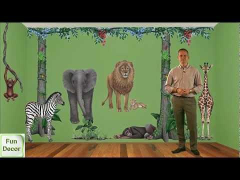 Fun Decor - Walls of the Wild