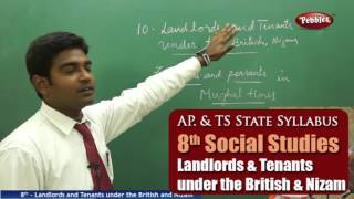 Landlords & Tenants under the British&Nizam | 8th Social Studies | AP&TS State Syllabus | Live Video