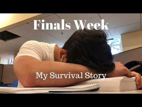UVA Finals Week | My Survival Story