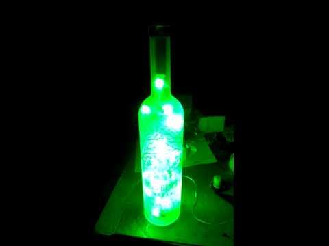 Belvedere vodka bottle light by Greendrunkard