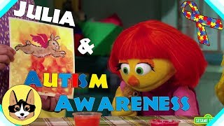 Sesame Street's Julia & Autism Awareness