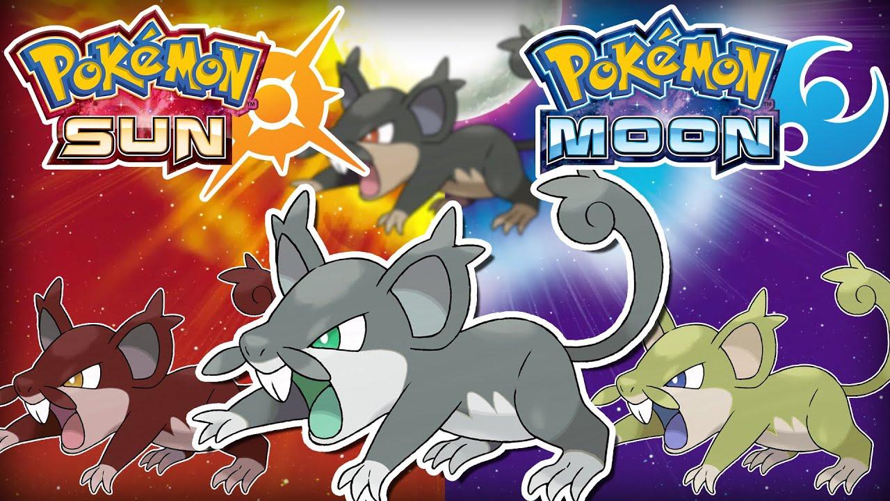 Pokemon Sun and Moon: Shiny Speculation - Shiny Alolan Rattata ...