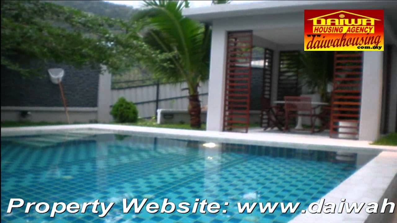 Penang Batu Ferringhi Luxury Holiday Bungalow With Private Pool For Sale To Let Youtube