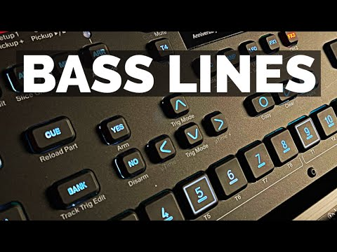 Producing Bass Lines in 4 Simple Steps | DAWless Elektron Production Workflow on Analog Four MK2