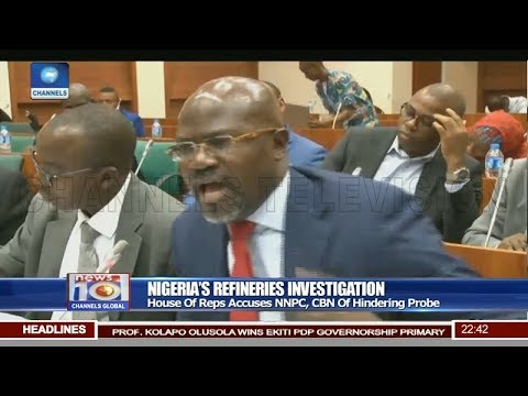 Lawmaker, NNPC COO Exchange Words During Refineries Investigation Hearing
