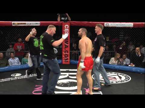 GREG REBELLO vs CHRIS GUILLEN: CES MMA