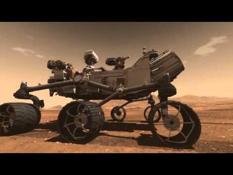 mars rover animation landing - photo #41
