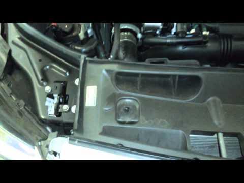Как снять передний бампер Mercedes W204