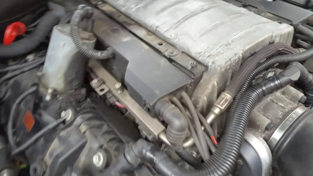 BMW 735i 2002 E65 N62 engine knocking noise