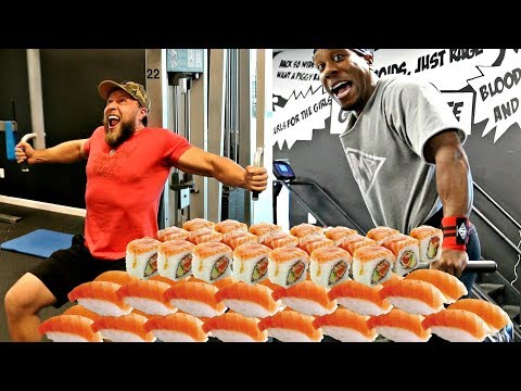 Crushing Chest, Arms & Sushi w Chris Jones  Road to 500 Ep 5