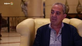 لماذا كرم الإسكندرية حسّين فهمي بدلا من سمير غانم ؟رئيس المهرجان يجيب