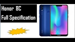 honor 8c full specification/sikho computer and tech