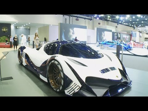World's Fastest Supercar Unveiled at Dubai International Motor Show