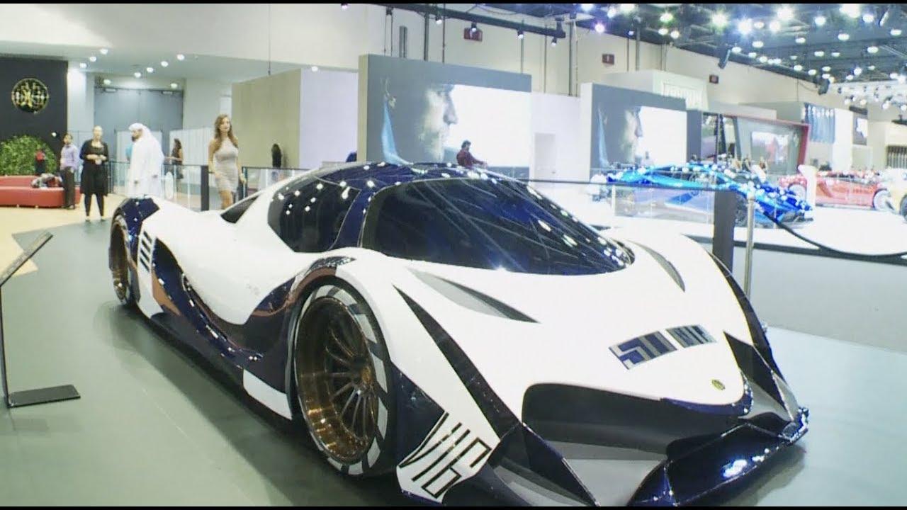 World S Fastest Supercar Unveiled At Dubai International