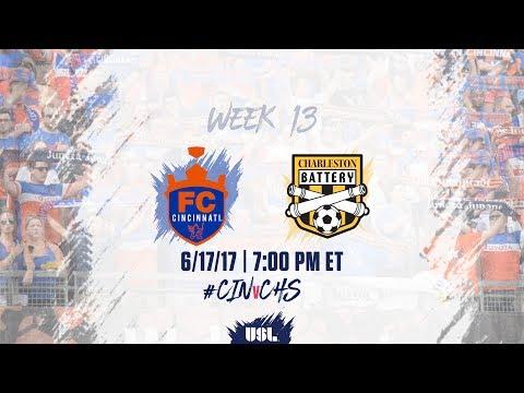 USL LIVE - FC Cincinnati vs Charleston Battery 6/17/17
