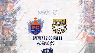 FC Cincinnati vs Charleston Battery full match
