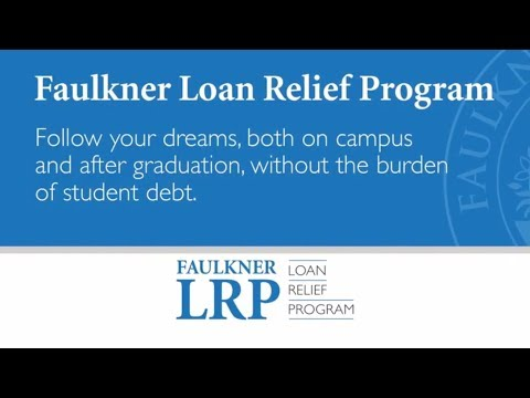 Faulkner Loan Relief Program