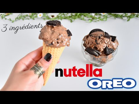 glace-nutella-oreo-sans-sorbetière-avec-3-ingrédients-en-5-min🍦recette-facile-&-rapide