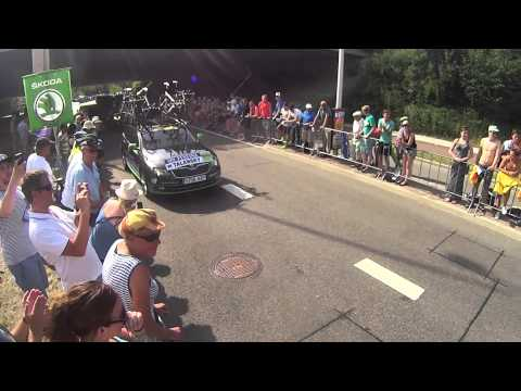 Andrew Talansky,Tour de France Grand Depart
