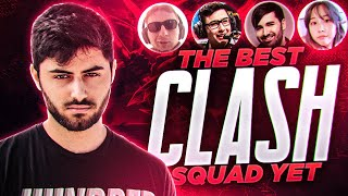 Yassuo | THE BEST CLASH SQUAD YET! Ft. Sanchovies, Voyboy, BrokenBlade and Starsmitten