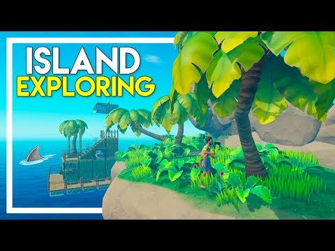 Raft Survival Game - Part 3: Exploring an Island!