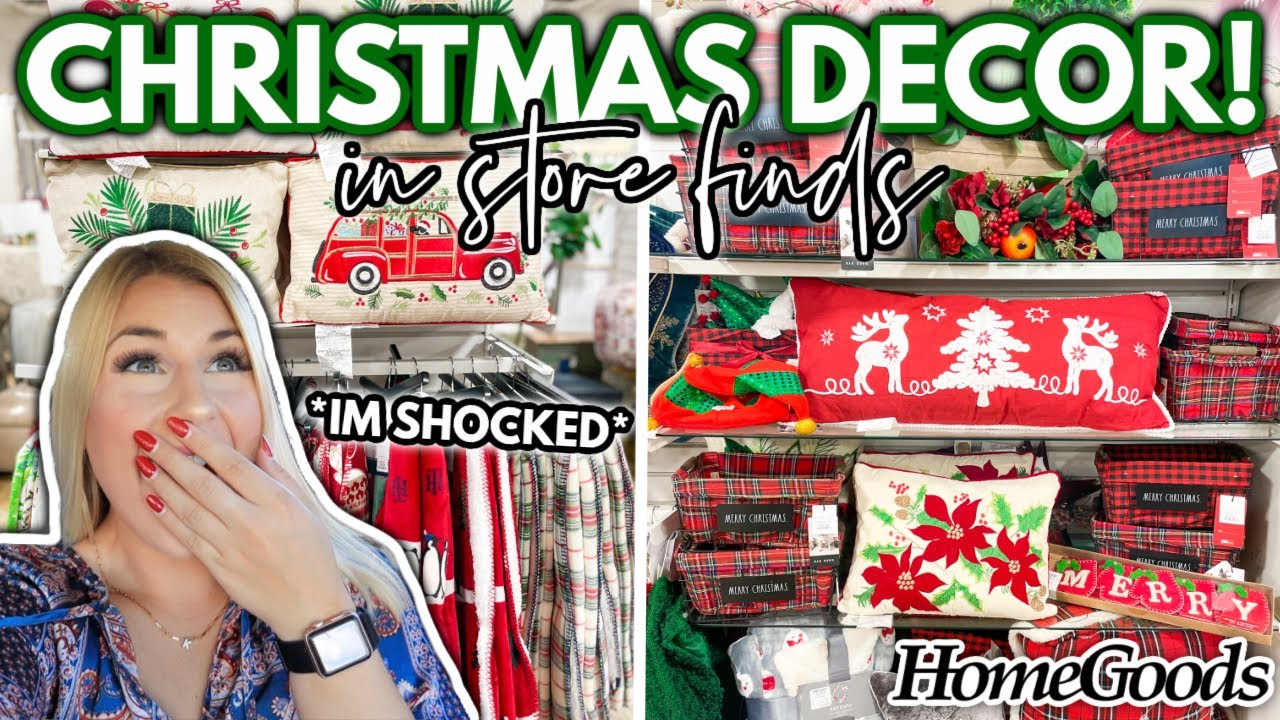 Download HomeGoods CHRISTMAS DECORATIONS are HERE... Christmas Decor you can find in store RIGHT NOW!