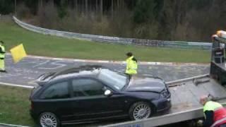 Touristenfahrt: M5 drift & MG crash
