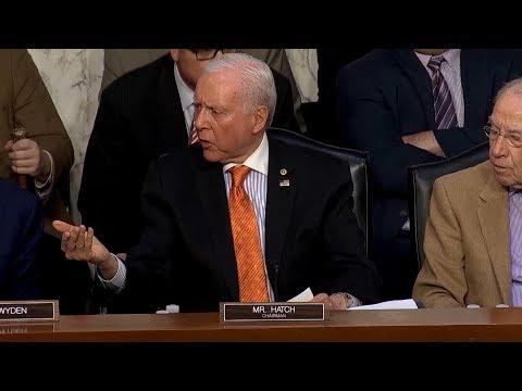 Senators get into shouting match over new Republican tax plan