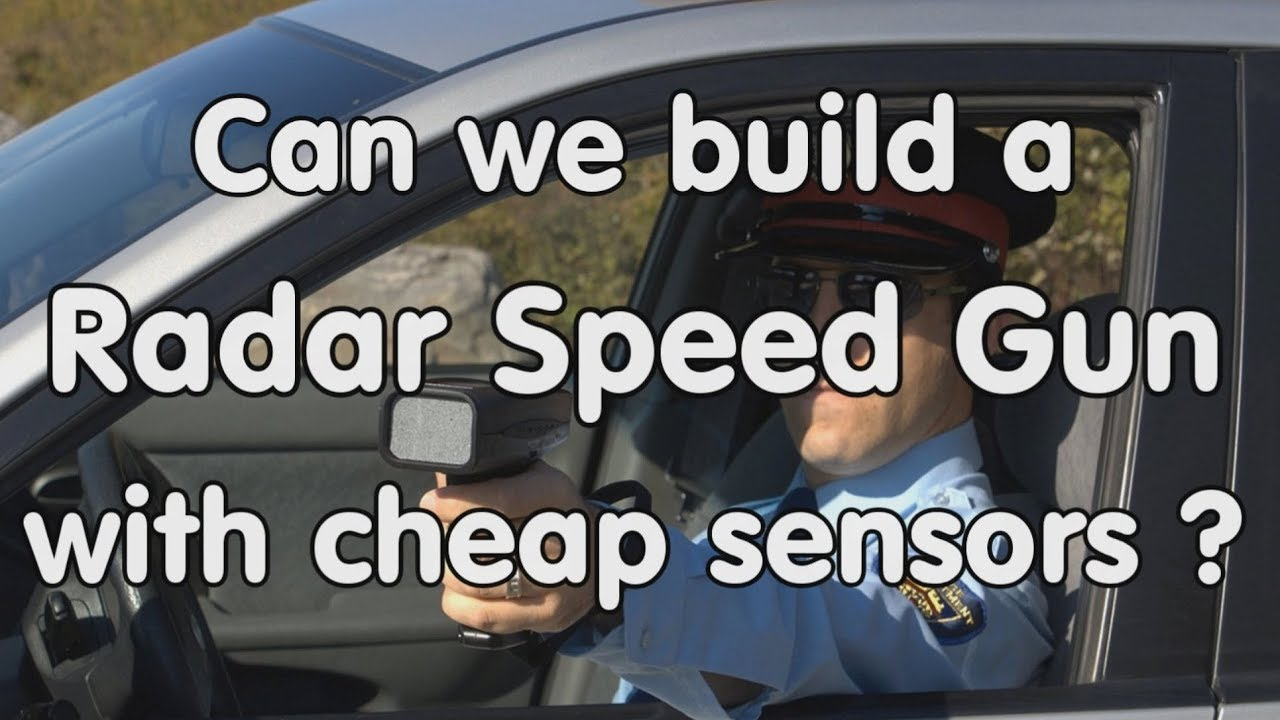 181 Diy Radar Speed Gun Using Cheap Radar Sensors Hb100 Cdm324