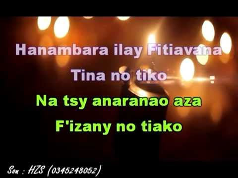 NDONDOLAH SY LUCIA - TIANA [ Karaoke Malagasy Nouveauté 2016 prod by HZS ]