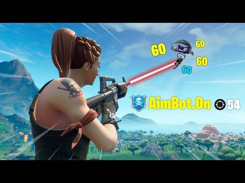 How To Get FORTNITE AIMBOT FOR FREE!!!