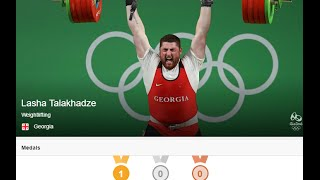 Caucasian Athletes .Olymp. games 2016.Кавказцы на Олимпийских играх 2016.