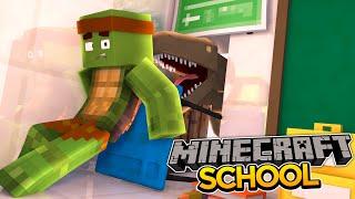 Minecraft School S2 DINOSAURS IN THE SCHOOL