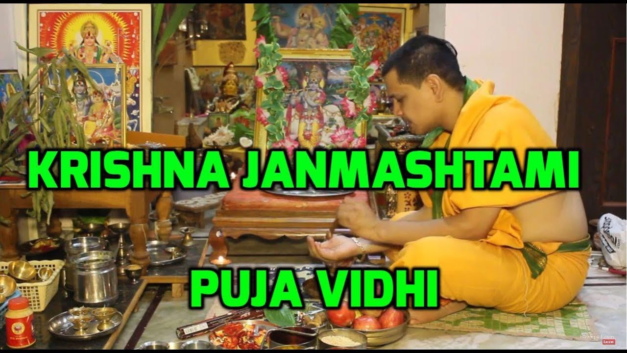 Image result for janmashtmi puja
