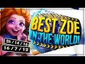 Redmercy | BEST ZOE WORLD? PLAYS AFTER PLAYS - League of Legends
